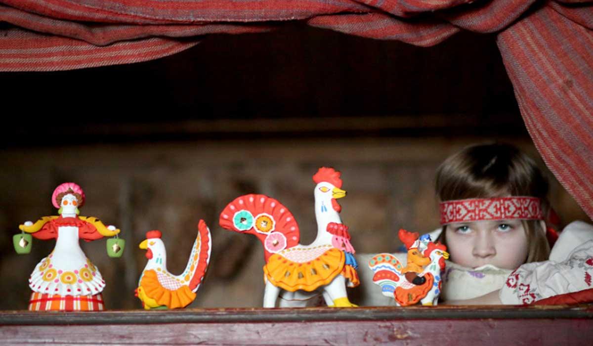 дымковская игрушка фото