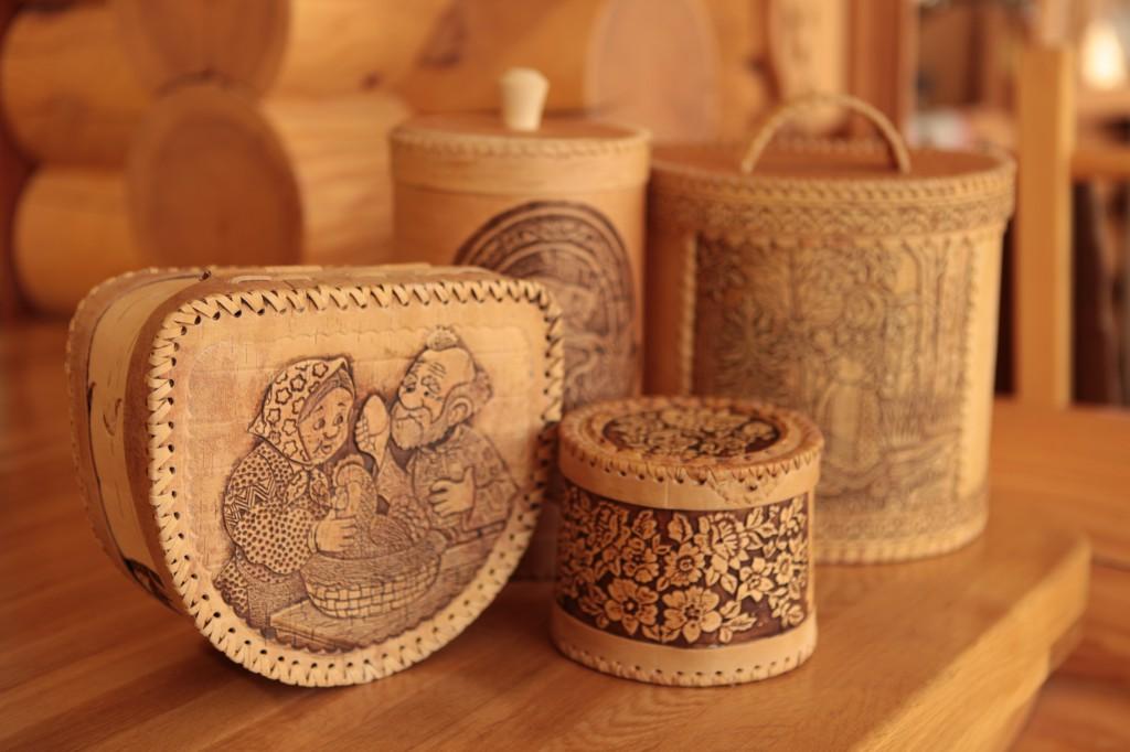 Плетеные изделия из ивы