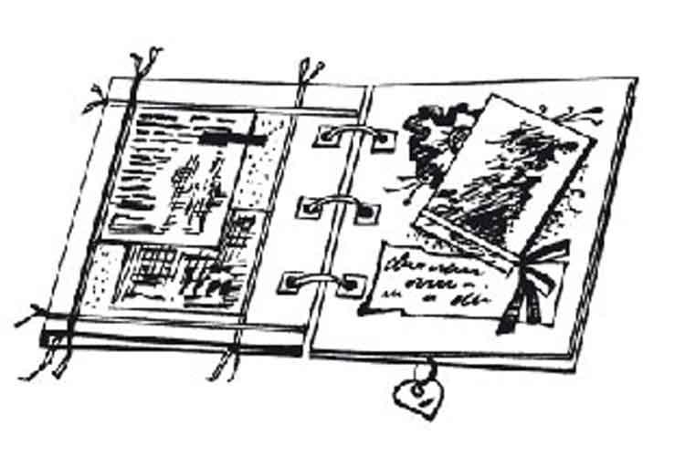 Оформление надписей в скрапбукинге