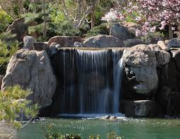 Строительство водопада своими руками