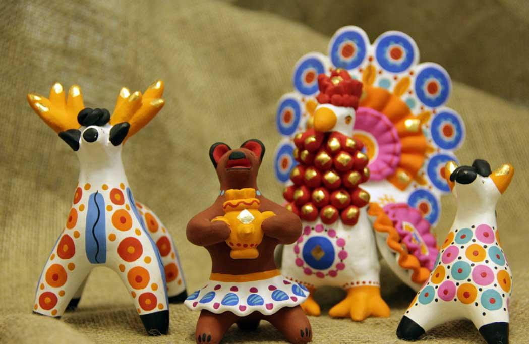 История дымковской игрушки кратко