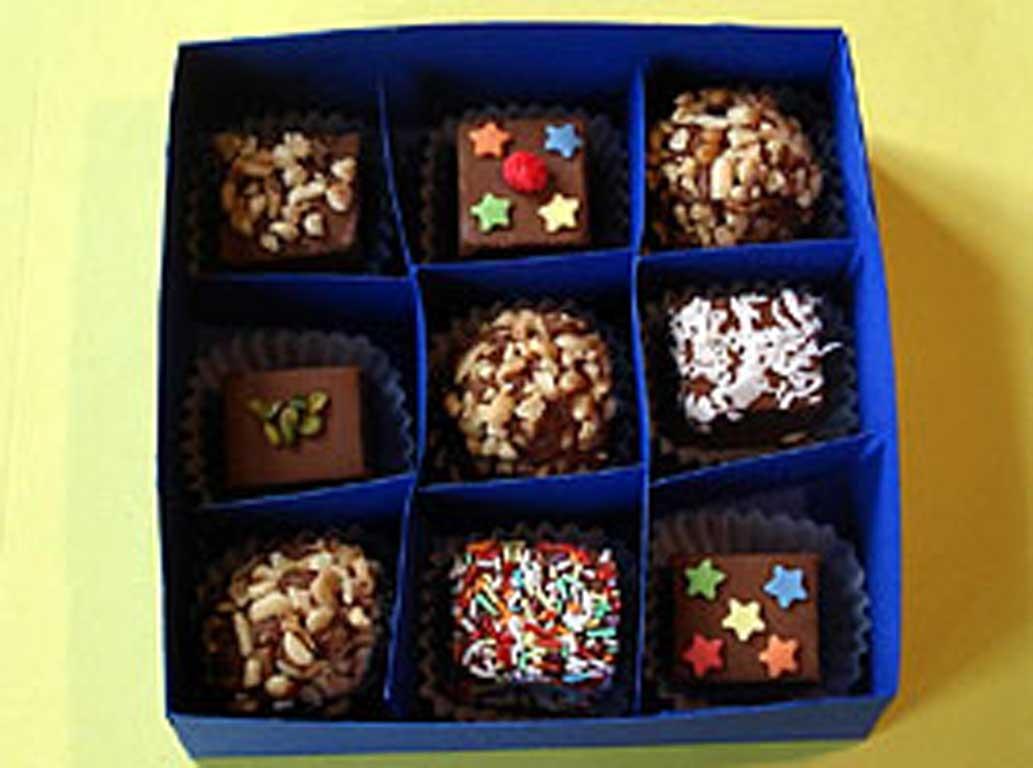 шоколадница своими руками