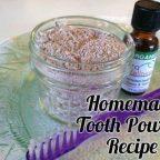 рецепт зубного порошка