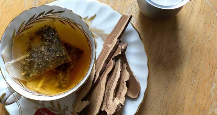грибной чай