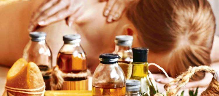 Масла для массажа тела
