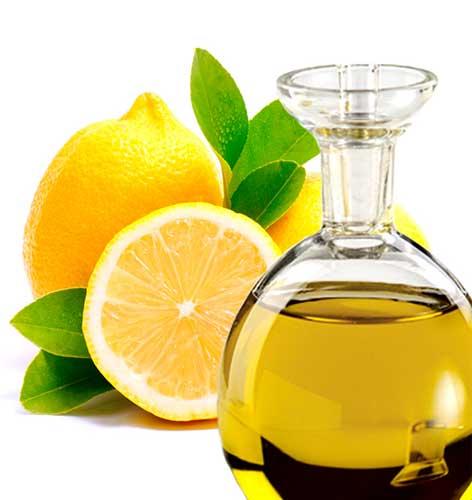 Применение масла лимона